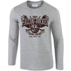 BGSU Hockey 1984 National Championship Long Sleeve T-Shirt – BG Memories | BGSU T-Shirts