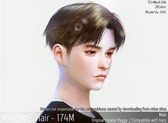 Emma's Simposium: TS4 Post #121 - MaySims Hair 174M - AU Request!!!