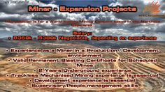 Miner - Expansion Projects