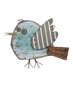 Love this Bird Wall Art on #zulily! #zulilyfinds