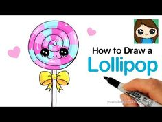 How to Draw a Unicorn Cake Easy . Learn how to draw a sweet, magical Unicorn cake step by step easy. This lovely cake is inspired by Rosanna Pansino's Unicorn Bunny Drawing, Unicorn Drawing, Unicorn Art, Cute Unicorn, Unicorn Diys, Drawing Lessons For Kids, Easy Drawings For Kids, Art For Kids, Cute Kawaii Drawings