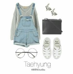 Ahh this outfit is so pure,, I love the bunny earrings - so cute! <3