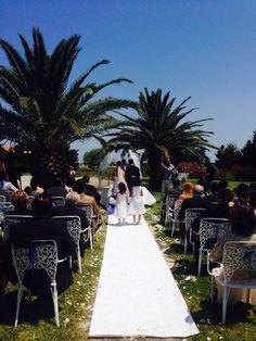 Matrimonio all'esterno del giardino del parco della laguna... Per chi sceglie di essere originale!!!