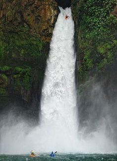 Big Banana Falls, Veracruz, Mexico