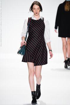 Rebecca Minkoff (Fall-Winter 2014) R-T-W collection at New York Fashion Week  #AdauMornyang #AdesuwaAighewi #AineOGorman #AlexandraCostin #AliWalsh #DaianeConterato #DashaCheban #HildieGifstad #IsabellaMelo #LauraKargulewicz #LeomieAnderson #MaggieMaurer #MariaSenko #MariePiovesan #MarinaHeiden #NewYork #RebeccaMinkoff #RosannaGeorgiou #SooJooPark #YanaShmaylova #YanaVilkina