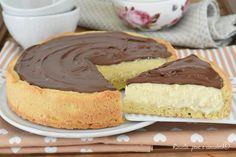 La TORTA NUTELLA e RICOTTA e' un dolce facilissimo da fare con una crema delicata e golosa, perfetta per qualsiasi occasione