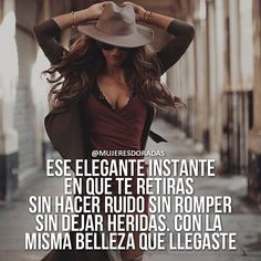 (@ mujeresdoradas Goal Quotes, New Quotes, Life Quotes, Motivational Quotes, Qoutes About Life, Powerful Women, Spanish Quotes, Strong Women, Life Goals