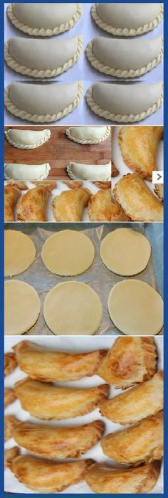 HOME MASS: for Empanadas de Oven recipe easy to prepare … – Dinner Recipes Mexican Dishes, Mexican Food Recipes, Dessert Recipes, Masa Recipes, Pan Dulce, Salty Foods, Peruvian Recipes, Bakery, Food And Drink