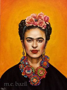 Frida  Acrylic on Canvas