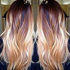 Balayage is an advanced technique to make your hair shiny and refreshing. From natural hair to rainbow hair colors, find the best balayage hair color for yourself right now! Copper Blonde Balayage, Balayage Long Hair, Hair Color Balayage, Balayage Highlights, Balayage Hair Auburn, Copper Highlights On Brown Hair, Haircolor, Fall Balayage, Copper Hair