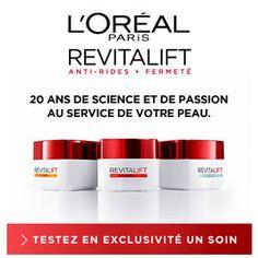 Testez un des produits de la gamme Revitalift de L'Oréal Paris http://www.beaute-test.com/service/test-produit-loreal-paris-revitalift-soin-anti-rides-hydratant.php