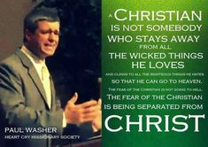 christian quotes | Paul Washer quotes | true conversion | Jesus Christ