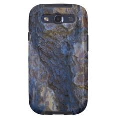 Wood Bark Textures Galaxy S3 Cases From Florals by Fred #gift #photogift #zazzle
