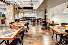 Hospitality Hot Spots: 4 New U.S. Bars and Restaurants | The Dabney restaurant in Washington, D.C. by Edit Lab at Streetsense #design #projects #restaurants #interiordesign #interiordesignmagazine
