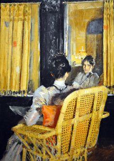 Reflections   William Merritt Chase,1893