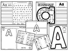 This is a great way to learn about letters. In this unit there are several activities to learn about letters and sounds. Please see the example in the preview.BB Kidz