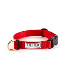 Snap Collar: Red