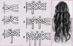 Easy loose braid