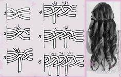 Easy loose braid