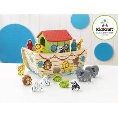 Kidkraft 63244, L'arca di Noè, Puzzle educativo: Amazon.it: Giochi e giocattoli