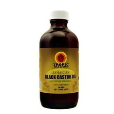 Tropic Isle Living Jamaican Black Castor Oil, 4 Ounce by Tropic Isle. $7.00. Repair or prevent hair damage. Thicken hair that is thinning. Will rapidly stimulate hair growth. Tropic isle's living jamaican black castor oil is a rich, light brown oil which is processed the old fashioned way by roasting the castor bean. Jamaican black castor oil origin can be traced back to  ethiopia, africa. It's believed that this natural castor oil originally came to jamaica from slaves ta...