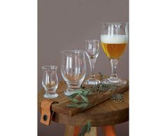2 Verres à bière verre, transparent - 250 ml | Westwing Home & Living
