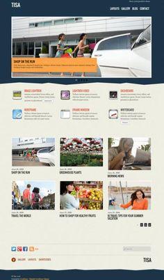 Themify Tisa - Portfolio Gallery WordPress Theme http://www.wordpressthemereviewdesk.com/themify-tisa-review/ #WordPress