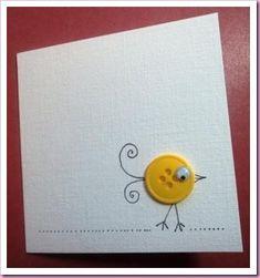 Handmade Birthday Cards, Greeting Cards Handmade, Diy Cards Tutorial, Karten Diy, Button Cards, Cricut Cards, Bird Cards, Scrapbook Cards, Scrapbooking