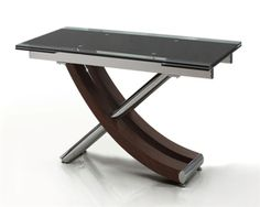 XANTOS EXT GLASS DINING TABLE