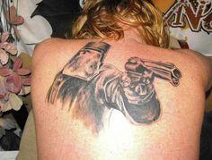 If you& getting a tat, make it patriotic. That& the Australian way. Reaper Tattoo, S Tattoo, Australian Tattoo, Ned Kelly, Life Tattoos, Tattoo Designs, Tattoo Ideas, Tatting, Pirates
