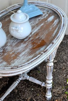 My First Experience with Miss Mustard Seed Milk Paint