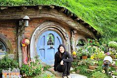 A Hobbit garden - New Zealand (the movies were shot here)