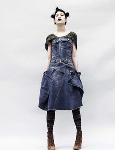 mcqueen. Almost like this. Top and bodice good...