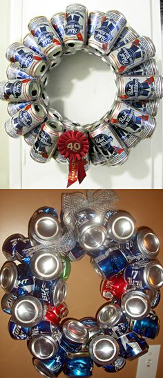 "White Elephant, Funny & Gag Gifts ● ""Redneck"" Wreath Tutorial                                                                                                                                                                                 More"