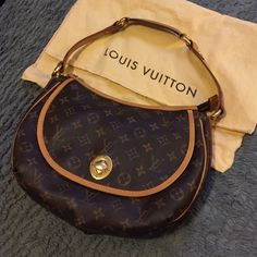 Louis Vuitton Talum pm Very light patina. Nice honey color. Bought from another posher. I just have too many Louis Vuitton Bags Shoulder Bags