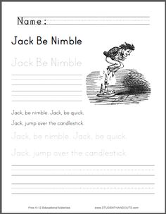 Phonics Worksheets 1st Grade Excel Sort By I Sound Worksheet  Free To Print Pdf File  Area And Perimeter Of A Parallelogram Worksheet Excel with Phonics Ar Worksheets Excel Jack Be Nimble Worksheet For Kids  Free To Print Pdf Addition And Subtraction Worksheets For Grade 1 Word