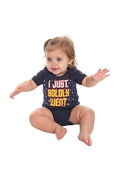 One day when we have a little Starfleet Cadet, I'm totally getting him/her one of these!
