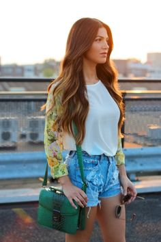 Getting in the Mood for Spring Looks | Negin Mirsalehi