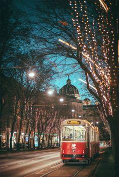 The Ring.jpg by Julia Dávila-Lampe - Photo 186599645 / Visit Austria, Austria Travel, Places To Travel, Travel Destinations, Places To Visit, Lampe Photo, Vienna Christmas, Christmas Christmas, Luxury Houses