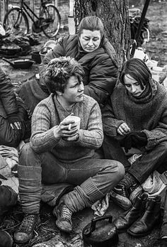 Greenham Common women protestors 1984 Jane Bown