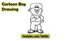 How to draw a Cartoon Boy body and face  Cartoon Boy Drawing from YoKidz  #YoKidz #Drawing #PencilDrawing #Generaldrawing #Like4like #Likeforlike #Share4share #Shareforshare #Draw #Blackandwhite #CartoonBoy #DrawCartoonBoy #Boy #DrawBoy