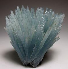 Blue Barite from Sidi Lahcen Mine, Morocco