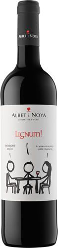 Lignum Negre - great organic wine that didn't give me a headache in 15 minutes.