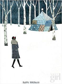 일러스트레이터들의 크리스마스 카드 : 네이버 매거진캐스트