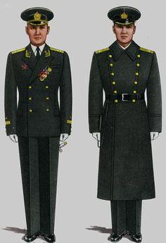 Soviet Army Uniforms