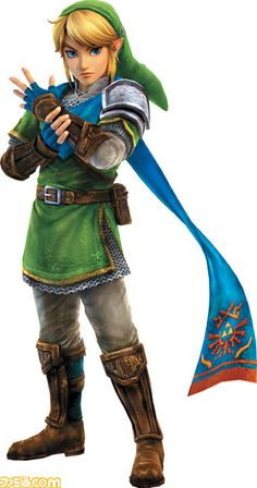 Zelda MUSOU / Hyrule Warriors  new official artwork from Famitsu : Link (May 2014) |