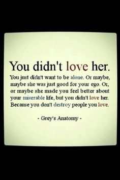 You don't destroy what you love....so so true! ....and you blamed me for your horrific actions and I believed all the shitty things you convinced me about myself. I don't know why you did what you did. I wish I knew. It's not my fault.