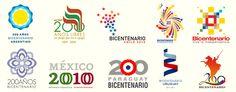 Identidad, logos bicentenarios