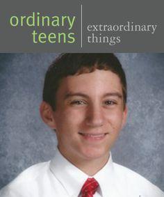 Ordinary Teens Doing Extraordinary Things - Joseph Seidensticker   Face Forward Columbus