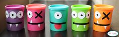 monster-party-play doh cans